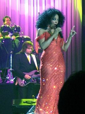 Diana Ross in concert in Rotterdam, 2007