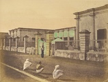 Chandernagor's Government House c. 1850