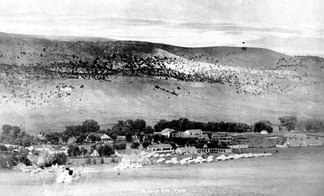 Early photograph of Fort Stanton.
