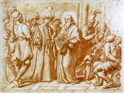 Giovanni Maria Morandi, The ransoming of Christian slaves held in Turkish hands, 17th century