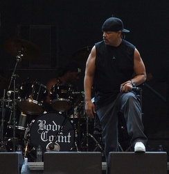 Ice-T with Body Count performing in 2006.
