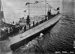 US-built Spanish submarine Isaac Peral (launched in 1916)