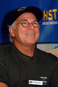 Jimmy Buffett aboard USS Harry S Truman, January 2008