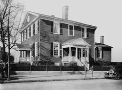John Marshall's House in Richmond, Virginia