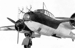 Dornier Do 17Z-10 night fighter with FuG 202 Lichtenstein B/C UHF radar