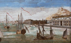 View of Pondicherry in the late 18th century