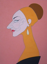 Portrait of Callas (2004), by Oleg Karuvits