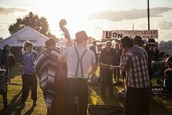 The Shrewsbury Folk Festival is an extremely popular music festival held at the West Mid Showground in Shrewsbury during August bank holiday.