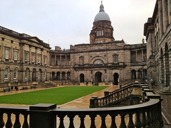 The Old College of the University of Edinburgh