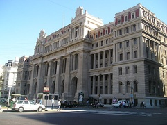 The Palace of Justice of the Argentine Nation is in the San Nicolás, Buenos Aires neighbourhood