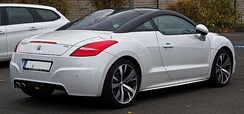 Facelifted Peugeot RCZ (Germany)