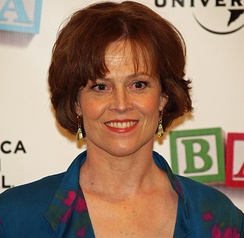 Weaver at the 2008 Tribeca Film Festival premiere of Baby Mama, in which she appears.