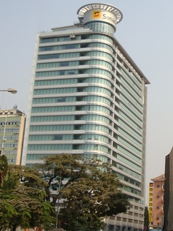 Headquarters of Sonangol.