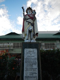 Statue of Ferdinand III (Patio of Metropolitan Cathedral of San Fernando in the Philippines)