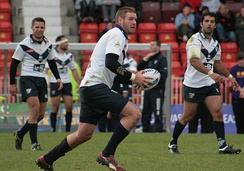 Toulouse Olympique playing rugby league against Gateshead Thunder (June 2009)