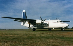 The West used this Fokker 27 in the mid-1990s to deliver its newspapers on a nightly flight to the north of Western Australia.