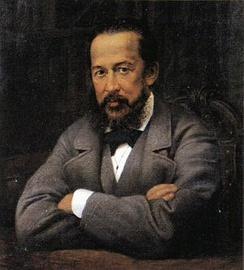 Один из основателей музея граф Алексей Сергеевич Уваров. Портрет XIX века