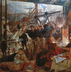 William Bell Scott Iron and Coal, 1855–60