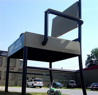 The one-time world's largest chair in Anniston