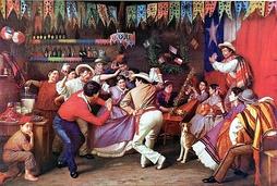 Мануэль Антонио Каро, «Танец замакуэка», 1873