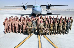 702d Expeditionary Airlift Squadron, Kandahar Airfield, Afghanistan, 2012.