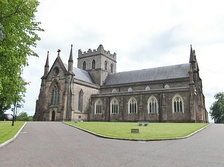 St Patrick's Cathedral, Armagh (Church of Ireland) is the seat of the head of the Anglican Church of Ireland.