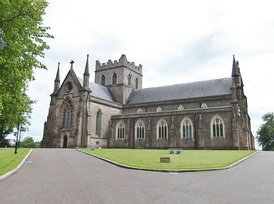 St. Patrick's Cathedral, Armagh (Church of Ireland), site of the original church