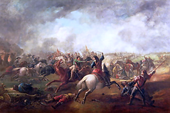 The Battle of Marston Moor, 1644