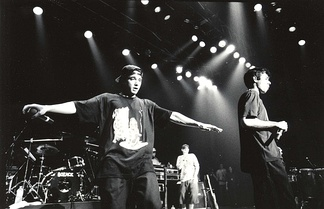 Beastie Boys at Club Citta Kawasaki, Japan, on the Check Your Head tour, 1992