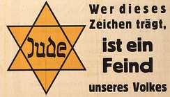 """Whoever wears this sign is an enemy of our people"" – Parole der Woche, 1 July 1942"
