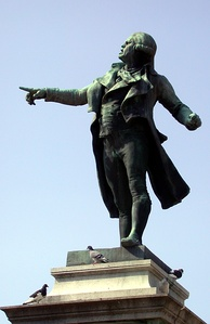 Statue of Danton in Tarbes.