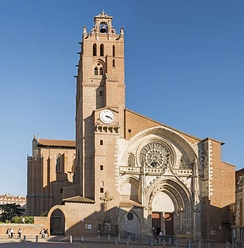 Toulouse Cathedral (mainly 13th c.)