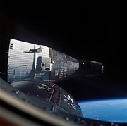 Rendezvous of Gemini 6A and 7, December 1965