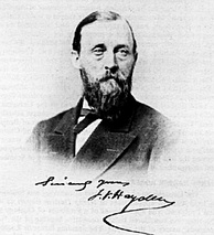 Ferdinand V. Hayden (1829–1887) American geologist who convinced Congress to make Yellowstone a national park in 1872.