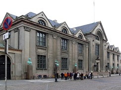 The main building of the University of Copenhagen