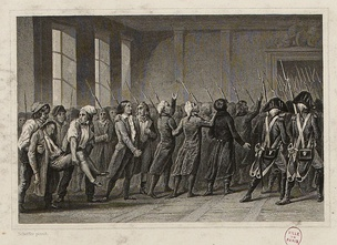 Arrest of the Girondins at the National Convention on 2 June 1793