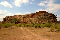 Mapungubwe Hill, the site of the former capital of the Kingdom of Mapungubwe