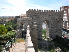 An albarrana tower of the ancient city walls