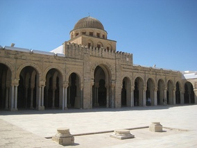 The Great Mosque of Kairouan (also called the Mosque of Uqba or Mosque of Oqba) had the reputation, since the 9th century, of being one of the most important centers of the Maliki school.[12] The Great Mosque of Kairouan is situated in the city of Kairouan in Tunisia.