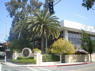 The Recording Academy's former headquarters in Santa Monica, California.