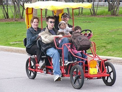 A tourist rental quadricycle: Quadricycle International Q-Cycle-6[1]