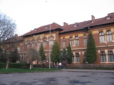 The Roman Vodă College building