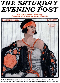 Cover of the January 19, 1924 issue