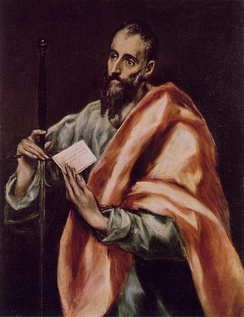 Saint Paul, by El Greco
