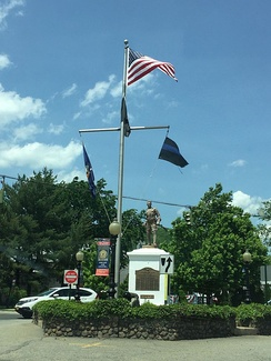Washington Avenue Soldier's Monument in Ramapo