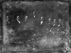 The Zachary Taylor Administration, 1849 Daguerreotype by Brady[4]