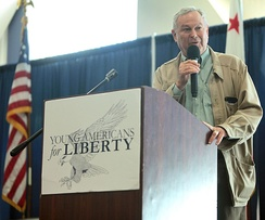 Rohrabacher speaking at the 2016 Young Americans for Liberty California State Convention