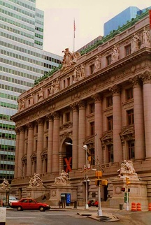 The Alexander Hamilton U.S. Custom House, site of the George Gustav Heye Center