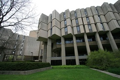 University Library (1970), in Brutalist style