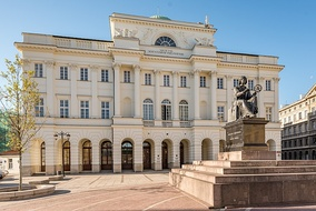 Staszic Palace and Copernicus Monument